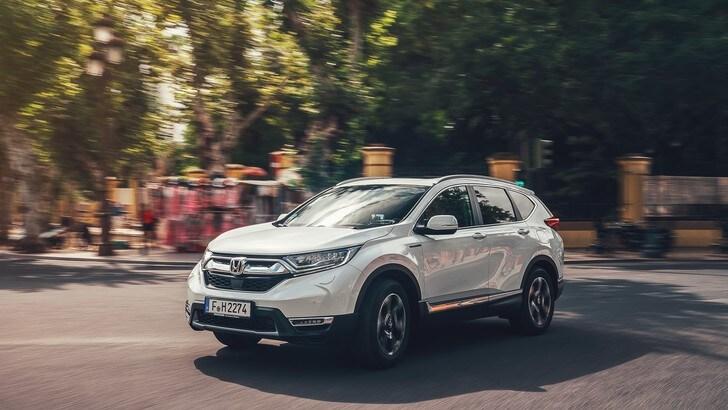 Honda a Parco Valentino con CR-V Hybrid e HR-V Sport