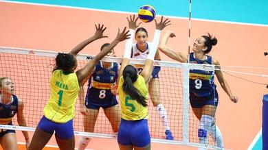 L'Italia ad Ankara si arrende al Brasile