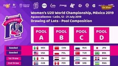Mondiali Under 20: Italia con  Messico, Usa e Cuba