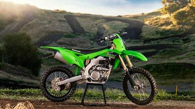 Kawasaki, le foto della nuova KX250