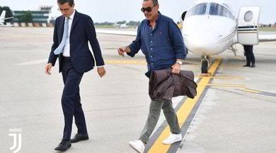 Juventus, Sarri è a Torino
