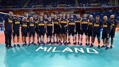 L'Italia si allena all'Allianz Cloud