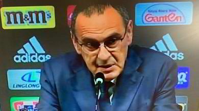 """Diretta Sarri alla Juventus: """"Coronamento della carriera"""""""