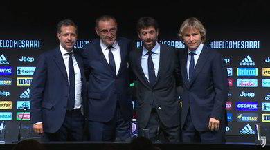 """Diretta Sarri alla Juventus: """"Ronaldo? Con me altri record. Champions nostro obiettivo"""""""