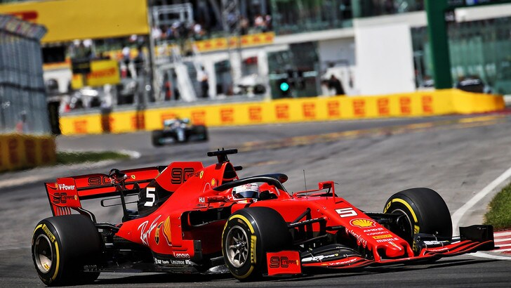Gp Francia, Vettel sfida Hamilton ma è dura: il colpo a 4,75