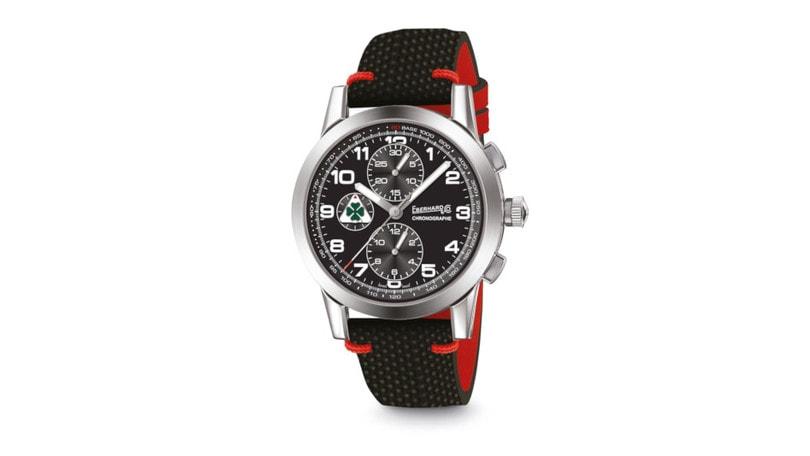 Eberhard sposa Alfa Romeo, arriva il cronografo Quadrifoglio Verde
