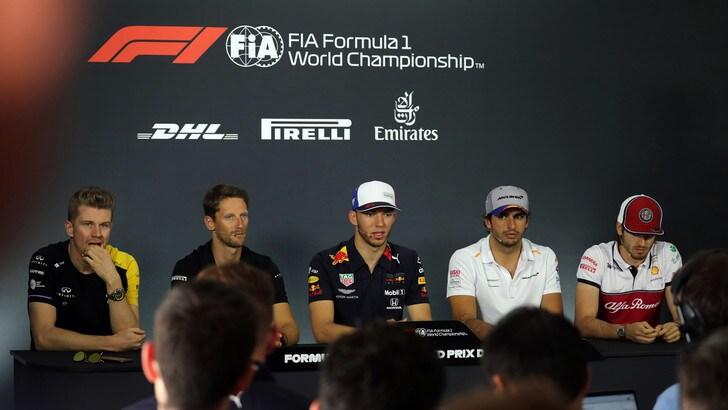 Caso Vettel, i piloti: