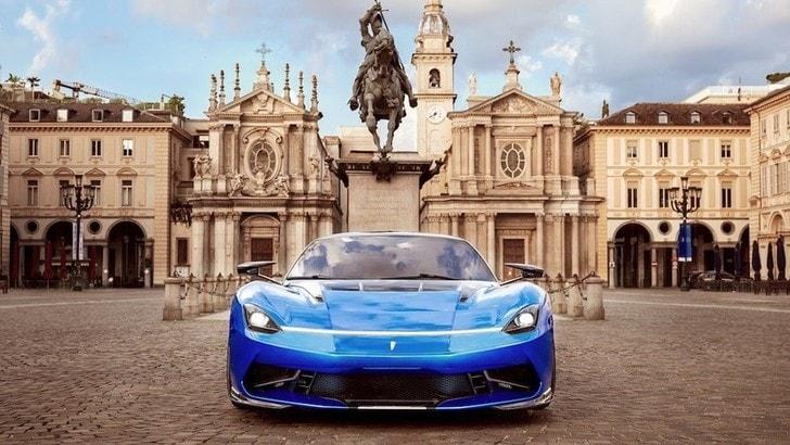 Al Parco del Valentino il nuovo look della Pininfarina Battista