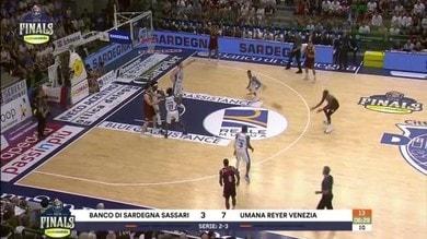 Banco di Sardegna Sassari - Umana Reyer Venezia 87-77