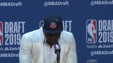 """NBA Draft, Williamson: """"Prima scelta? Che emozione!"""""""