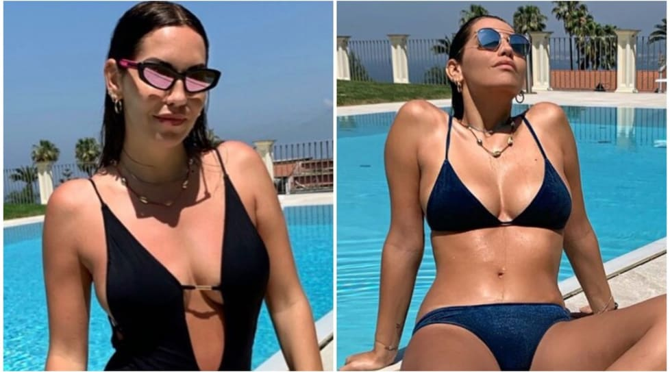 <p>La compagna dell'attaccante della Sampdoria Fabio Quagliarella incanta i suoi fan su Instagram</p>