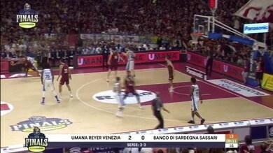 Umana Reyer Venezia - Banco di Sardegna Sassari 87-61