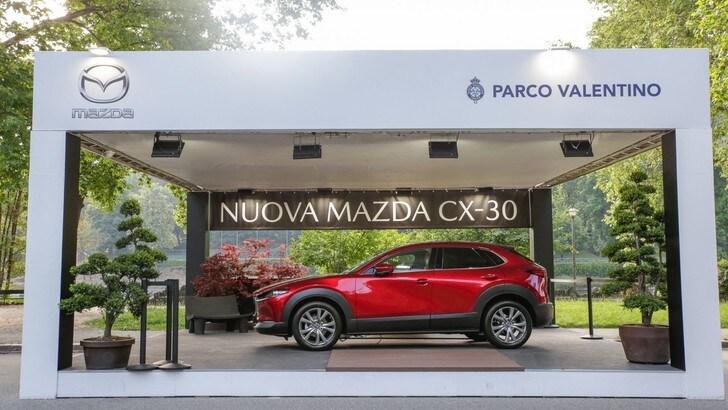 Mazda CX-30, anteprima nazionale al Parco Valentino 2019