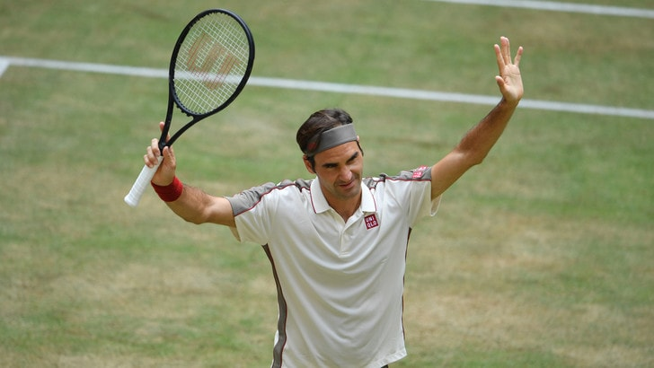 Federer: 10° successo ad Halle, 102° in carriera