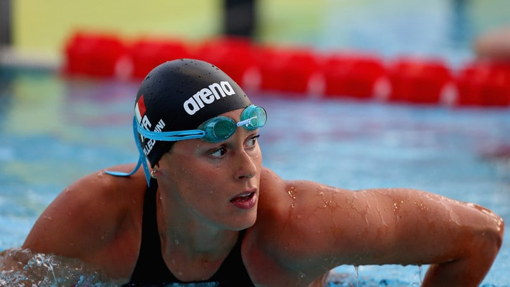 Nuoto: Federica Pellegrini trionfa al Sette Colli, suoi i 200 stile libero