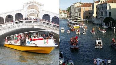 Reyer Venezia, festa in barca per lo scudetto