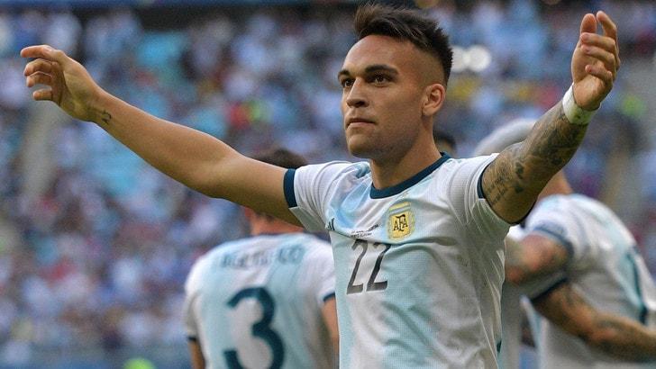 Copa America: Lautaro segna, l'Argentina va ai quarti. Esordio per Dybala