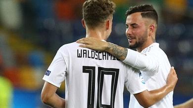 Euro U21, l'Italia spera ancora: la Danimarca vince ma è fuori, Germania in semifinale