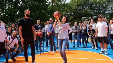 Enjoy NBA, inaugurato il nuovo playground a Torino | FOTO