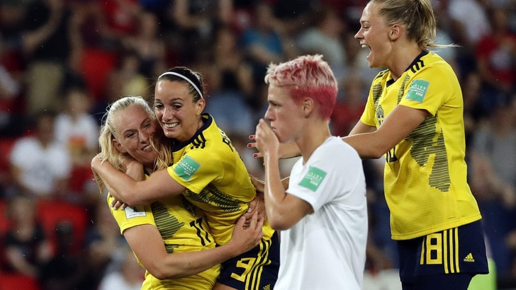Mondiali femminili, Stati Uniti e Svezia qualificate ai quarti di finale