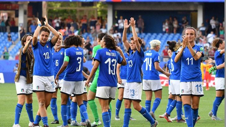 Italia femminile, ascolti record in tv. Bonansea: