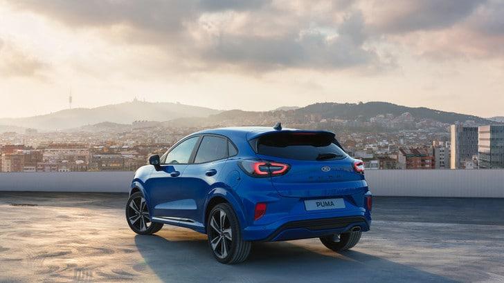 Ford Puma: la nuova versione è crossover, FOTO E VIDEO