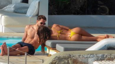Izabel Goulart e Kevin Trapp, che vacanze a Mykonos
