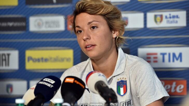 "Mondiali femminili, Giacinti: ""Il gol alla Cina? Prima ho sorriso, poi ho pianto"""