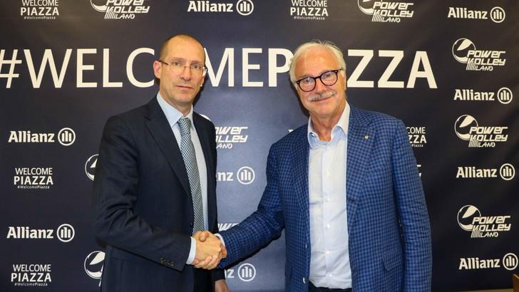 Milano ha presentato l'allenatore: Roberto Piazza