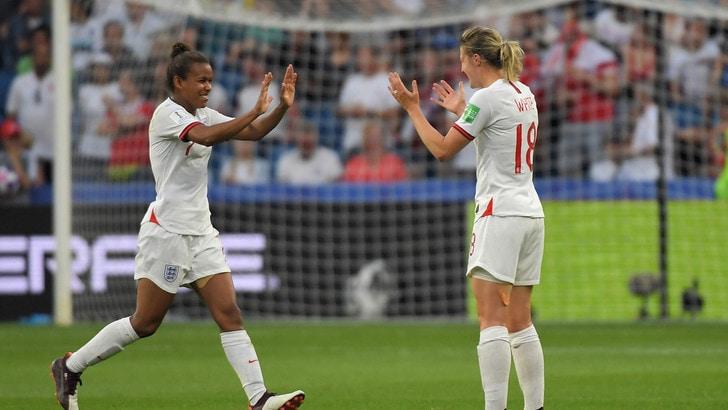 Mondiale femminile, l'Inghilterra stende la Norvegia: è in semifinale