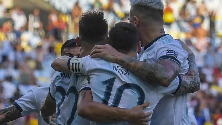 Coppa America, Argentina in semifinale contro il Brasile: Venezuela ko 2-0