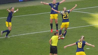 Mondiali femminili, sarà Svezia-Olanda in semifinale. Germania ko 2-1
