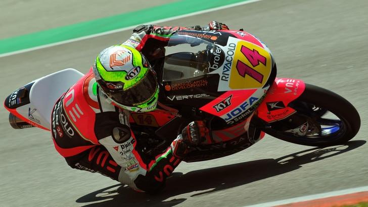 Moto3: Arbolino trionfa all'ultimo respiro