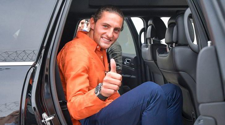 Juve, ecco Rabiot: è arrivato a Torino