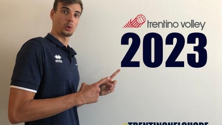 Trento allunga il contratto di Giannelli fino al 2023