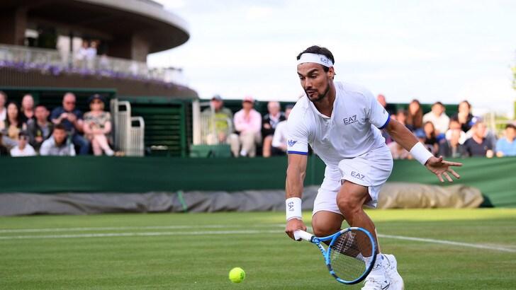 Fognini accede al secondo turno di Wimbledon, battuto Tiafoe in cinque set