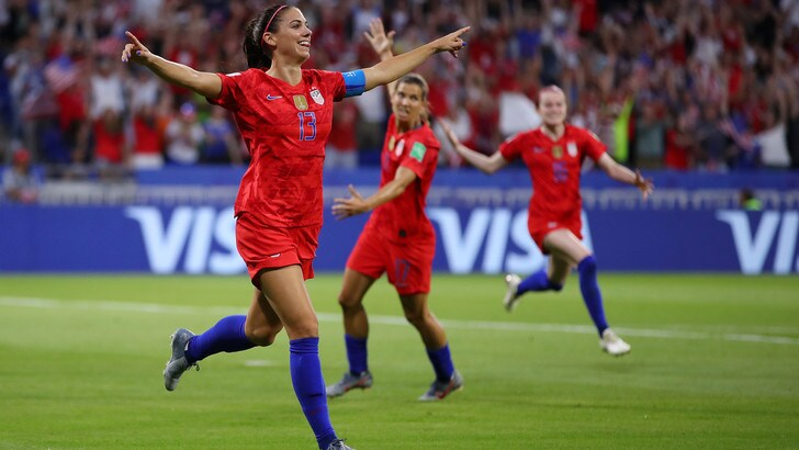 Mondiali femminili, Stati Uniti in finale. L'Inghilterra si arrende 2-1