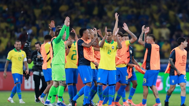 Brasile in finale di Coppa America: Argentina battuta da Gabriel Jesus e Firmino
