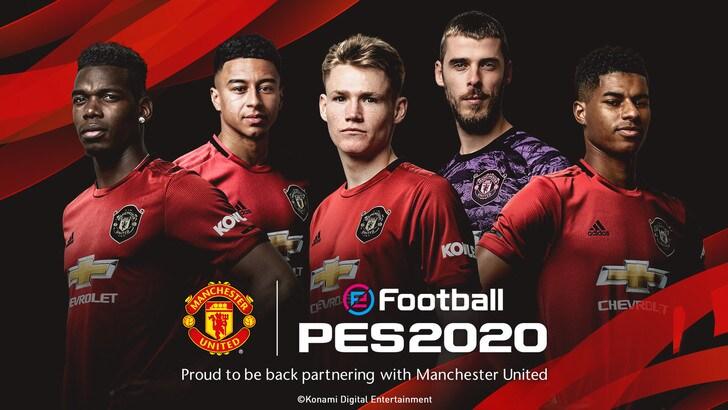 PES: anche il Manchester United nell'harem di Konami