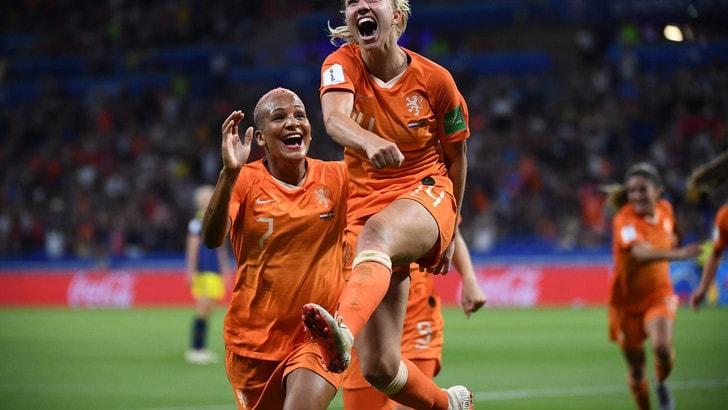 Mondiali femminili, sarà Olanda-Stati Uniti la finale. La Svezia si arrende ai supplementari