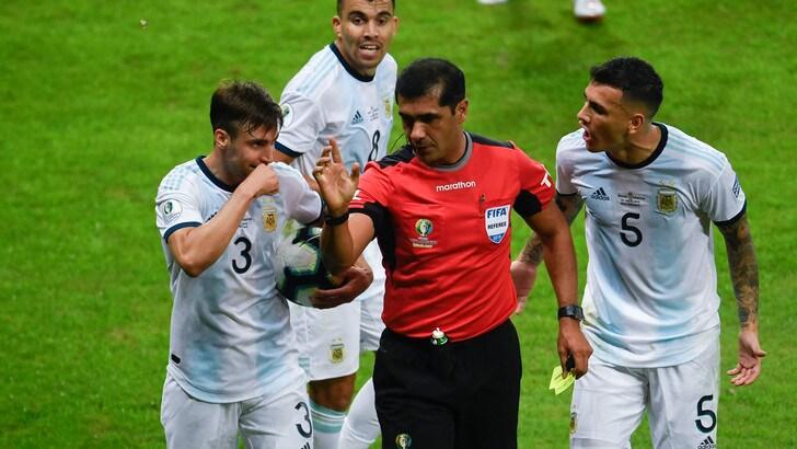 Coppa America, l'AFA presenta una denuncia alla Conmebol sull'arbitraggio di Zambrano