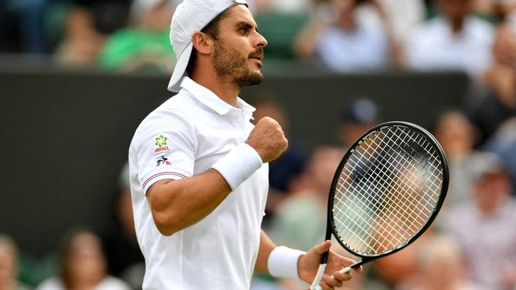 Wimbledon: Verdasco-Fabbiano, colpo azzurro a 2,28