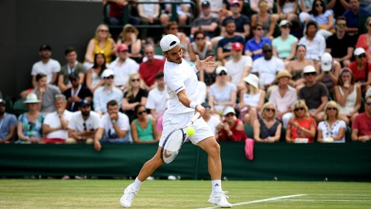 Wimbledon, Fabbiano fuori al terzo turno: avanza Verdasco