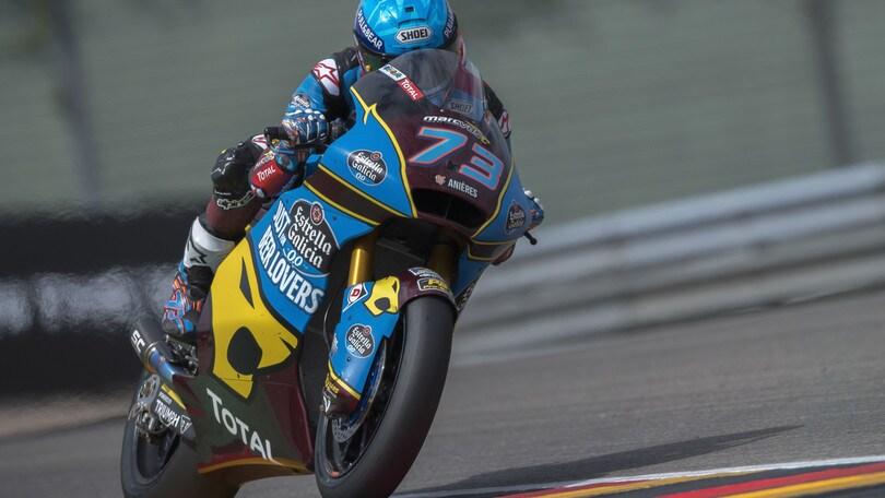 Moto2: Alex Marquez centra la pole al Sachsenring