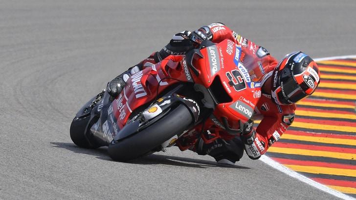 MotoGp, Sachsenring: nessuna frattura per Petrucci, domani ci sarà