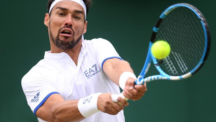 Fognini, furia contro Wimbledon: