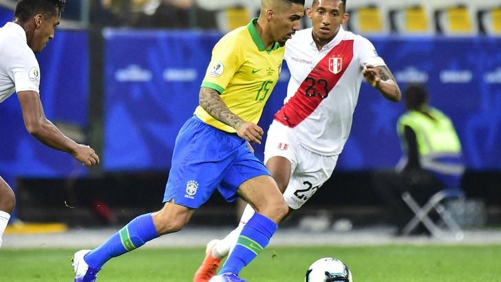 Copa America: Brasile avanti, impresa Perù a 11