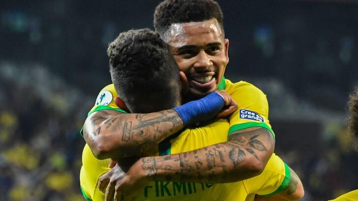 Coppa America, Brasile-Perù diretta ore 22. Dove vederla in tv e formazioni ufficiali