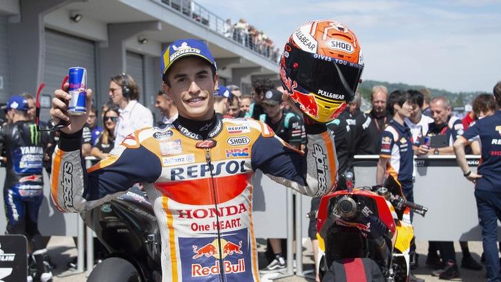 MotoGp: Marquez avanti anche nel Warm Up al Sachsenring
