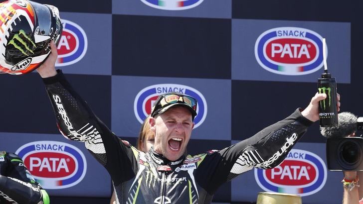 Sbk, Donington: Rea vince Gara 2, Bautista terzo